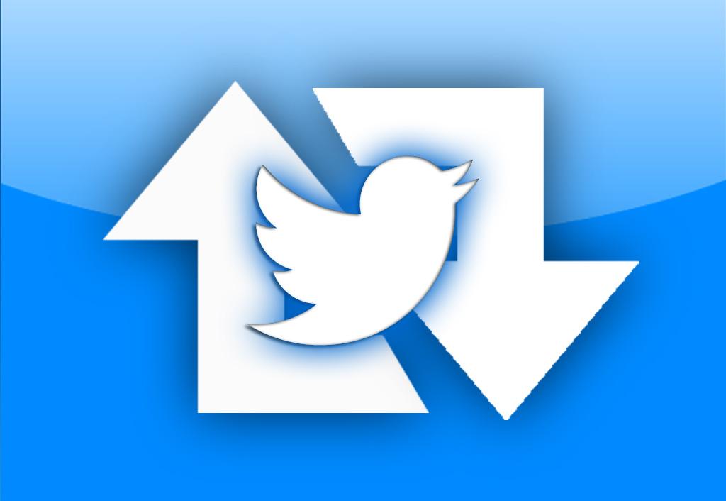 زيادة ريتويت - تويت في تويتر