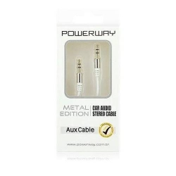 Powerway AX-01 Car Audio Aux Cable 3.5 mm كبل صوت