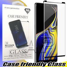 شاشة حماية ضد الكسر لسامسونج جالاكسي S9 5D