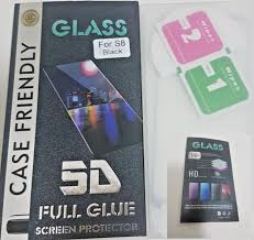 Microcase Samsung Galaxy S8 3D Curved Full Ekran Tempered Glass